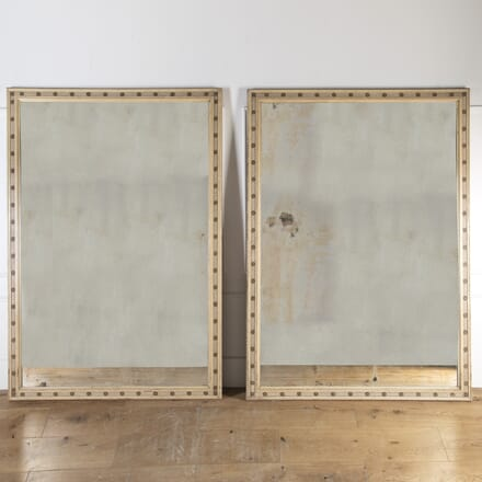 Outstanding Pair of Large 19th Century Mirrors MI9013687