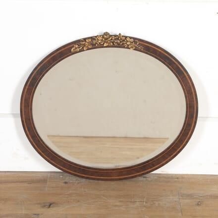19th Century French Oval Mirror MI8514581