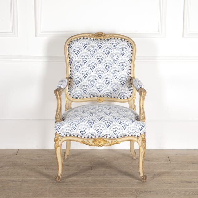 Painted French Fauteuil CH0114762