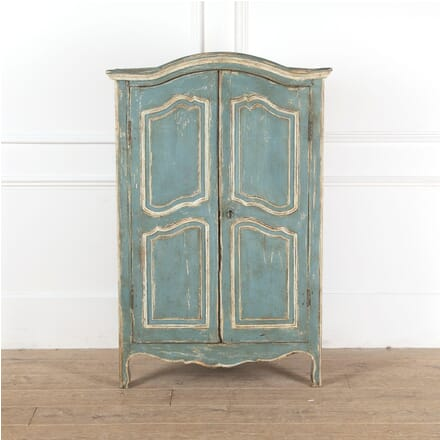 Painted French Provençal Corner Cupboard OF2911290
