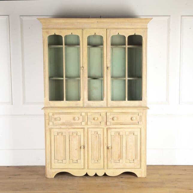 Irish 19th Century Painted Cabinet CU3614542