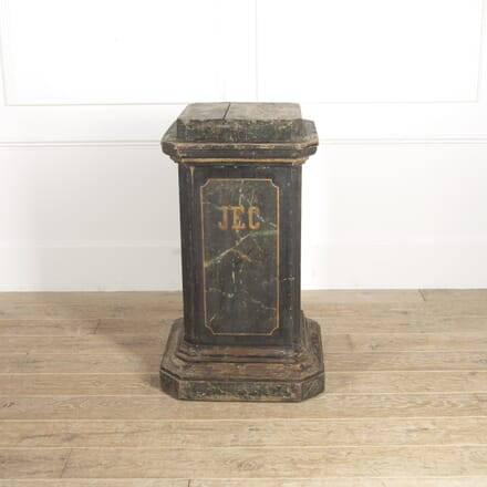 Painted Flemish 20th Century Pedestal BK2814809