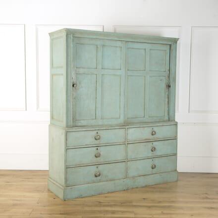 Painted Pine Pantry Cupboard OF439497