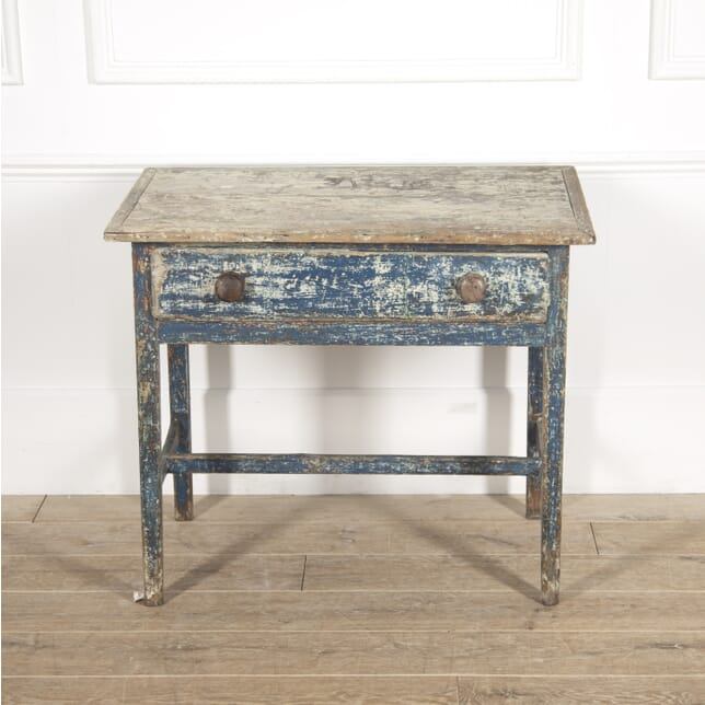 Painted Welsh Side Table TC2814807