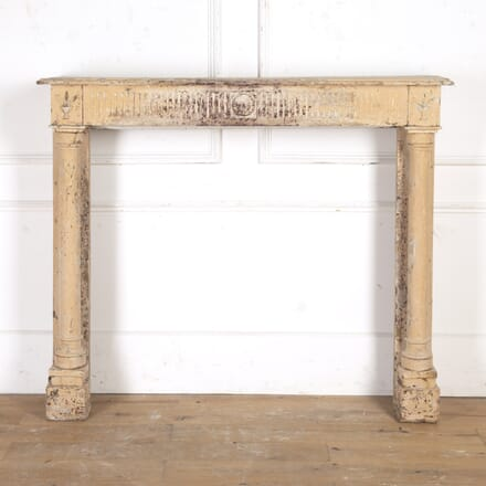 French Directoire Painted Fireplace OF8616652