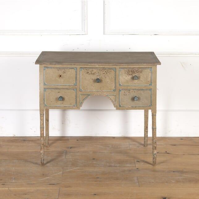 English Painted Writing Table TA5515269