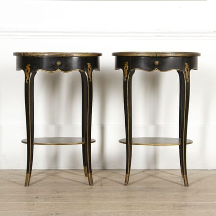 Pair of Chinoiserie Lamp Tables TC5217329