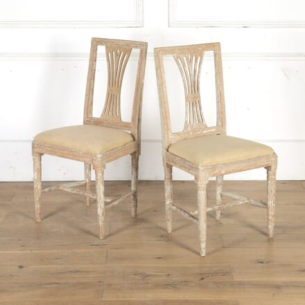 Pair of Gustavian Chairs CH8314918