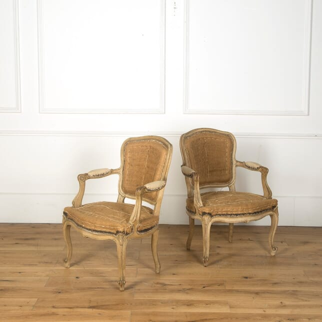Pair of 18th Century French Fauteuils CH759815