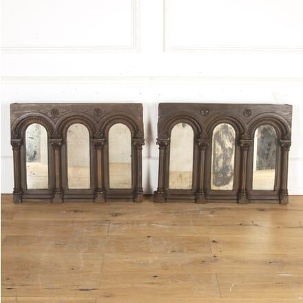 18th Century Gothic Oak Mirrors MI8113795