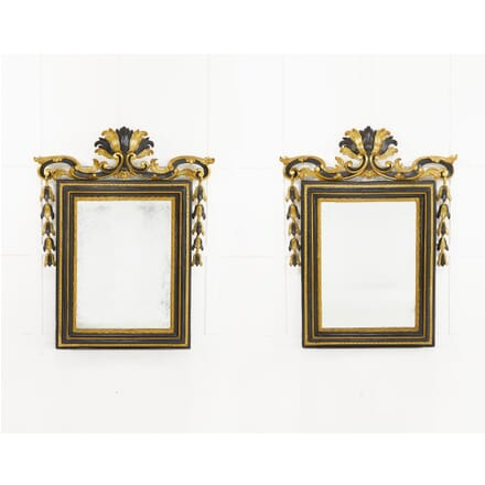 Pair of 18th Century Italian Rococo Mirrors MI0610195