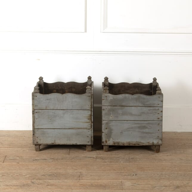 Pair of 18th Century Planters GA0211078