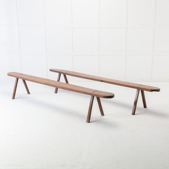 Pair of 18th Century Walnut Benches SB0616896