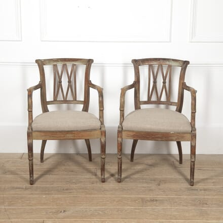 Pair of 1940s French Armchairs CH6016970