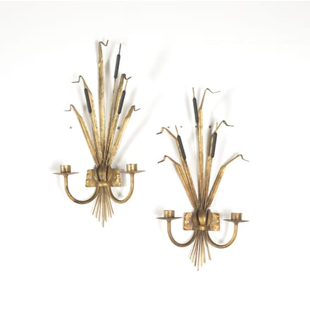 Pair of 1960s  Bulrush Wall Lights LW1510585