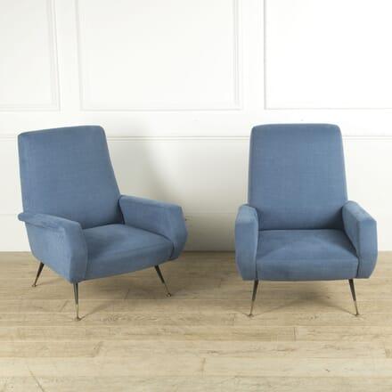 Pair of 1970s Italian Armchairs CH0110299