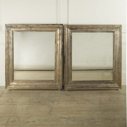 Pair of 19th Cent Silvered Mirrors MI019380