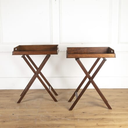 Pair of 19th Century Butler's Tray Tables OF8513862