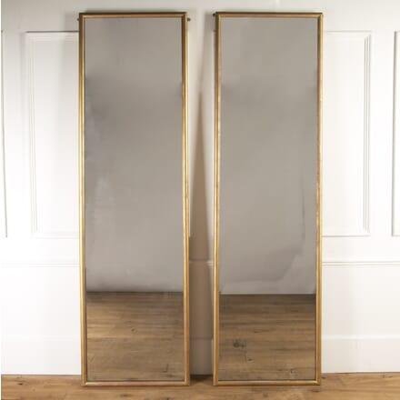 Pair of 19th Century English Gilt Mirrors DA8217089
