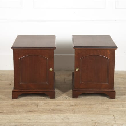 Pair of 19th Century English Mahogany End Tables CO8815699