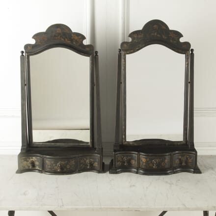 Pair of 19th Century English Table Mirrors MI1510577
