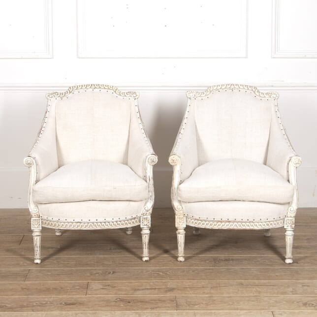 Pair of French 19th Century Fauteuils CH6016196