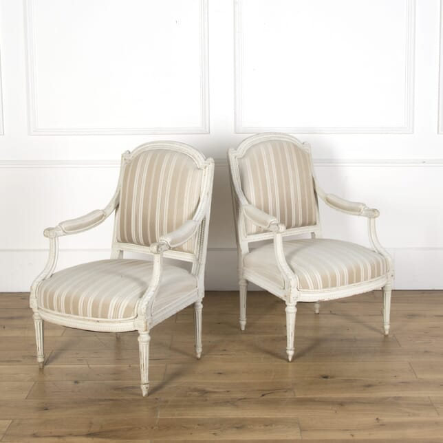 Pair of 19th Century French Fauteuils CH5110068
