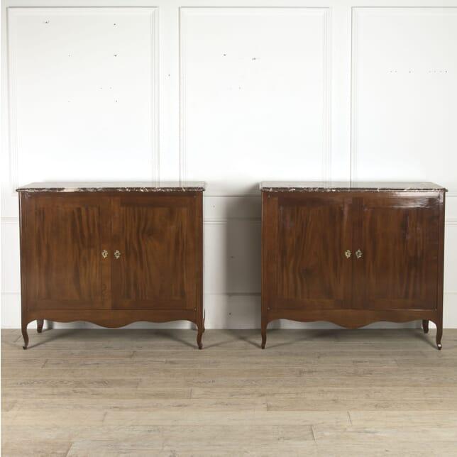 Pair of 19th Century French Mahogany Buffets CC5210452