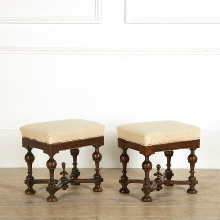 Pair of 19th Century Italian Stools ST159070