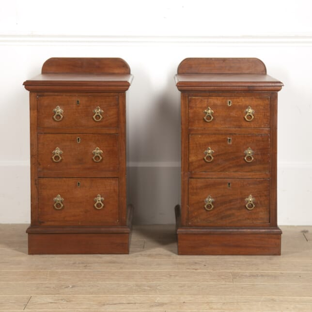 Pair of 19th Century Mahogany End Tables CO8815998