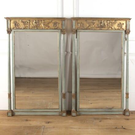 Pair of 19th Century Pier Mirrors MI9013493