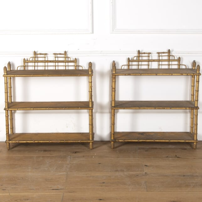 Pair of 19th Century Wall Shelves OF4753891