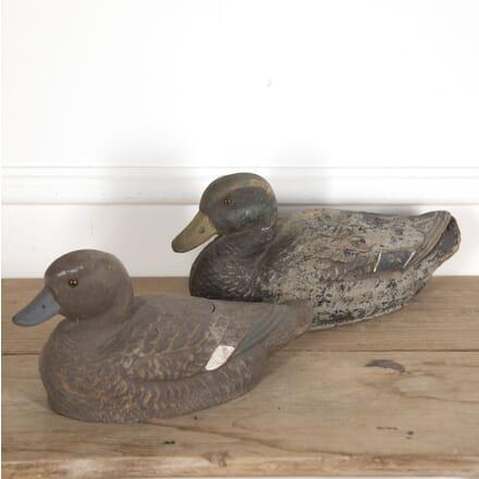 Pair of 20th Century American Decoy Ducks DA7715080