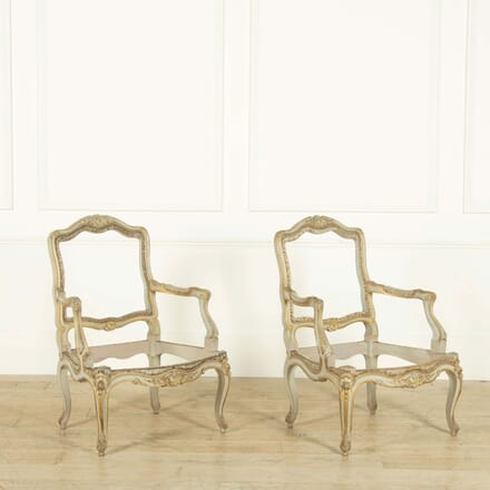 Pair of 20th Century French Armchairs CH259121