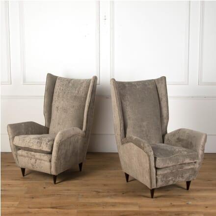 Pair of 20th Century Italian Armchairs CH7610601