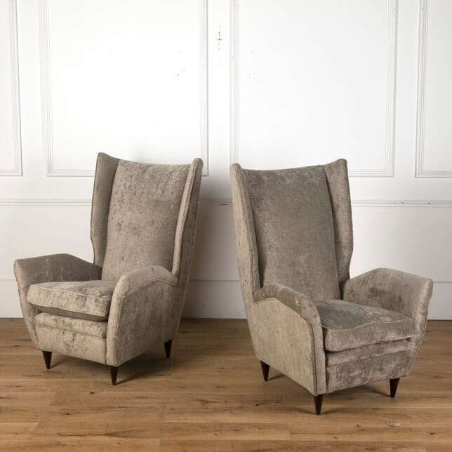Pair of 20th Century Italian Armchairs CH7610601