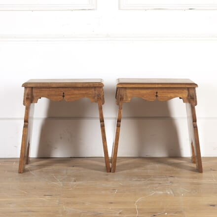 Pair of 20th Century Teak End Tables CO1014346