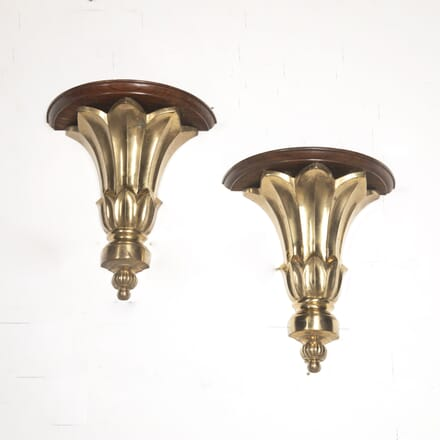 Pair of French 20th Century Wall Shelves OF8016712