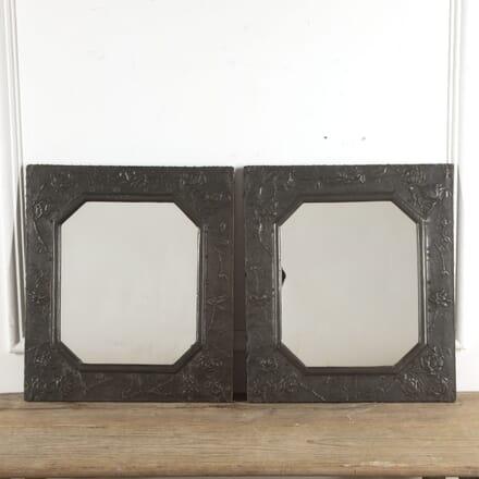 Pair of Aesthetic Movement Pewter Mirrors MI1516598