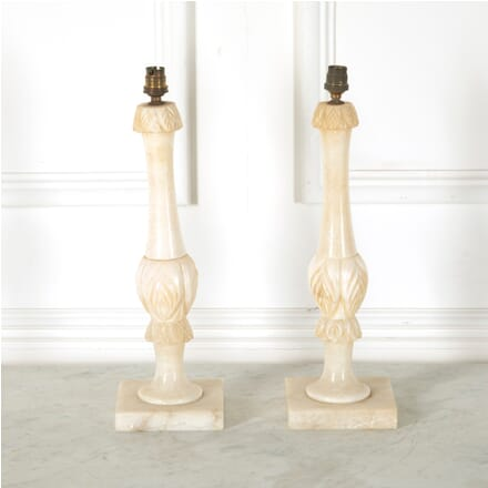 Pair Of Alabaster Lampbases LT1511578