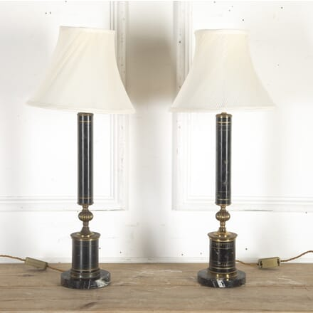 Pair of French Toleware Table Lamps LT8014330