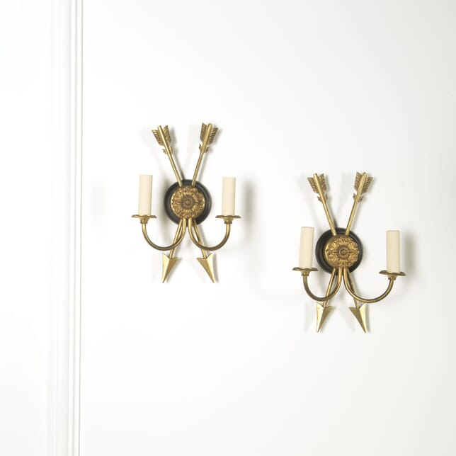 Pair of Arrow Wall Sconces LW219232