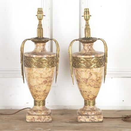Pair of Art Deco Lamps LT8513832