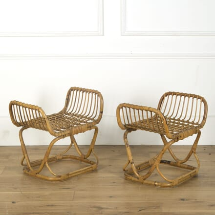 Pair of Bamboo Stools OF539604