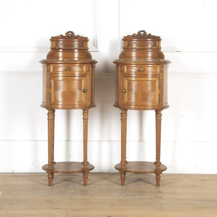 Pair of French 19th Century Bedside Cabinets BD8514936