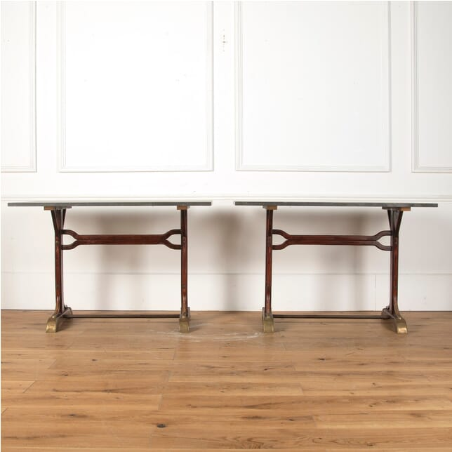 Pair of Bistro Tables CO3510938