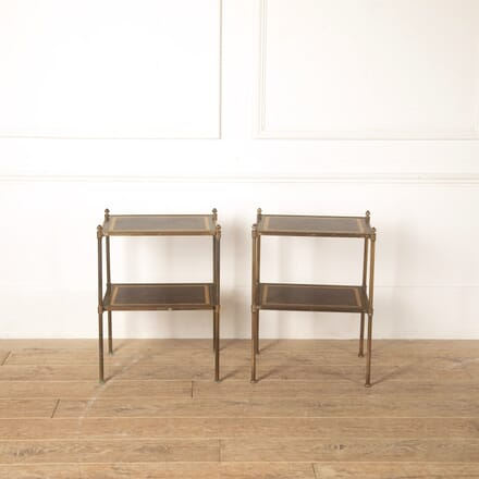 Pair of Brass End Tables TC3513667