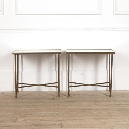 Pair of French Brass End Tables TC3515523