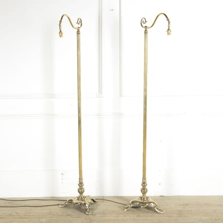 Pair of Brass Floor Lamps LF1310003