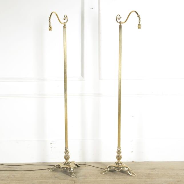 Pair of Brass Floor Lamps LF1310003